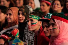 women campaign in Pakistan
